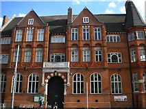 TQ2775 : Battersea Library, Lavender Hill SW11 by Robin Sones