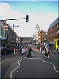 TQ2775 : St John's Hill SW11 by Robin Sones
