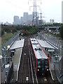 TQ4080 : Royal Victoria DLR station by Malc McDonald