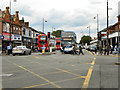 SJ8695 : Stockport Road (A6), Longsight by David Dixon