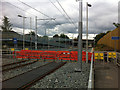 SJ8293 : Cycle path level crossing west of St Werburgh's Road Metrolink stop by Phil Champion