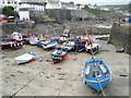 SW7818 : Coverack Harbour by Bob Jones