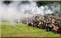 NT4527 : The Battle of Philiphaugh re-enactment, 2011 by Walter Baxter