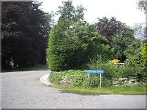 NJ6201 : Woodside Road, Torphins by Stanley Howe