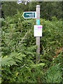 TM3856 : Restricted Byway sign & Open Access Map by Adrian Cable