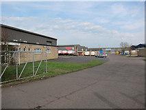 TL4568 : Broad Lane Industrial Estate by Hugh Venables