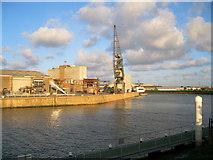 TF3242 : Riverside Quay, Port of Boston by Bob Jones