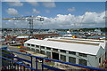 SW8132 : Falmouth Docks by Graham Horn