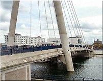 SD3317 : Marine Parade Bridge by Gerald England