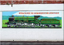 ST5871 : Mural at Bedminster railway station by Thomas Nugent
