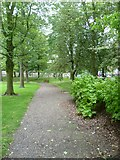 NT2572 : George Square garden path by kim traynor