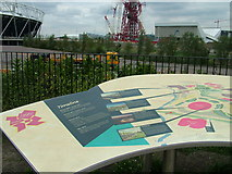 TQ3783 : Information board near the View Tube by Roy Haworth