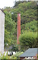 "NR7894 : The ruins of the ""wood vinegar"" factory, Crinan by Bob Embleton"