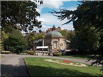 SE2955 : Harrogate - The Pump Room from Valley Gardens by Neil Theasby