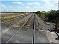 SK7988 : View from Marsh Lane crossing by Richard Croft