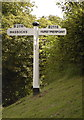 TQ2915 : Typical direction sign board, Hassocks by nick macneill