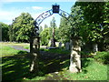 TQ3674 : Archway in Brockley Cemetery by Marathon
