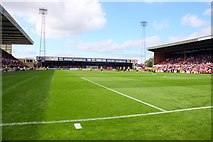 SU1585 : The Town End at the County Ground by Steve Daniels