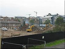 NT2472 : Scottish & Newcastle Brewery demolition at Fountainbridge by M J Richardson