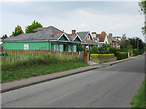 TR3256 : View along Dover Road, Sandwich by Nick Smith