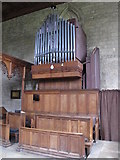 NY9650 : The Church of St. Mary The Virgin - organ by Mike Quinn