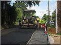 SU5750 : Resurfacing Oakley Lane by Sandy B