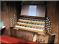 TQ7910 : Organ Console. St Matthew's Church by Julian P Guffogg