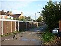 TA0831 : Lock-up garages off Alexandra Road by Ian S