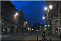 NS3321 : Ayr High Street at Night by Tom Morrison