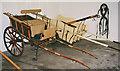 NO2595 : Horse drawn carts on display at Balmoral Castle by P L Chadwick