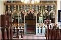 TG0610 : All Saints, Welborne - Screen by John Salmon