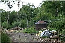TQ1661 : Charcoal kilns in Sixty Acre Wood by Hugh Craddock