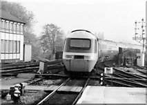 SX9193 : High Speed train at Exeter, 1984 by Rob Newman