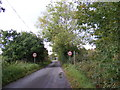 TM4286 : Kings Lane & the footpath to Walpole Hall by Adrian Cable