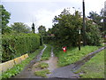 TM4574 : Lodge Lane Bridleway to Tinker's Walks by Adrian Cable