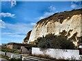 TQ4400 : Cliffs near Newhaven Fort by Paul Gillett