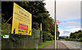 J3874 : Estate agent's sign, Belfast by Albert Bridge