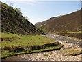 NN9778 : Glen Tilt and the Lochain confluence by Richard Webb
