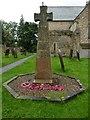 NZ1616 : St Mary's Parish Church, Gainford, War Memorial by Alexander P Kapp
