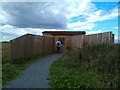 TF3639 : The entrance to the East Hide by David Lally