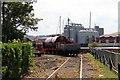 TQ7569 : Railway, Chatham Historic Dockyard, Kent by Christine Matthews