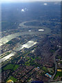 TQ4182 : Greenwich from the air by Thomas Nugent