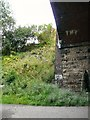 SJ9594 : Side of Dowson Road bridge by Gerald England
