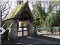 NZ2288 : Lych gate, St John's Church by Maigheach-gheal