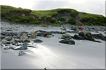 HP6202 : Low banks behind the Easting beach by Mike Pennington