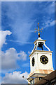 TQ7569 : Clock Tower, Chatham Historic Dockyard, Kent by Christine Matthews