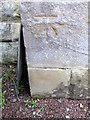 NZ2288 : Bench Mark, St John's Church by Maigheach-gheal