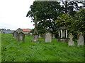 NZ1416 : The Church of St Andrew, Winston, Graveyard by Alexander P Kapp