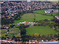 TQ1376 : Lampton Park from the air by Thomas Nugent