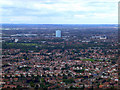 TQ1276 : West Hounslow from the air by Thomas Nugent
